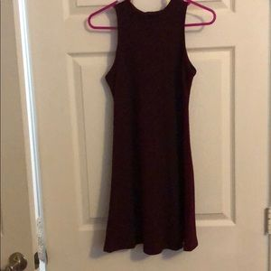 Girl's pink and violet Dress